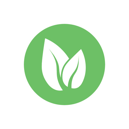 Green leaf, Eco icon ve