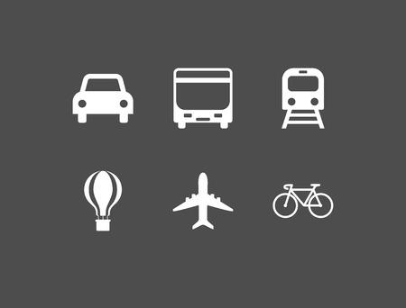 Public transport, shuttle, traffic transport transportation icon