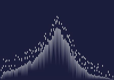 Abstract background with lines. Vector