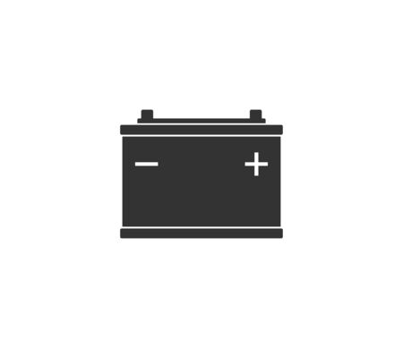 Vector illustration, flat design. Car battery icon Banque d'images - 131230104
