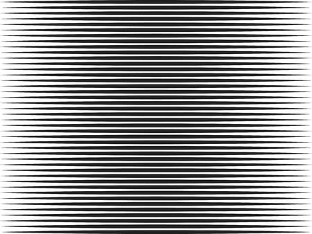 Vector illustration. Horizontal lines linear halftone flat