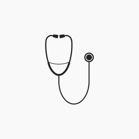 Medical, stethoscope icon Vector illustration Ilustracja
