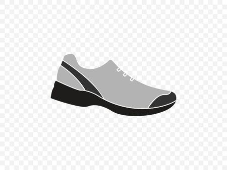 Running shoe icon. Vector illustration flat  イラスト・ベクター素材