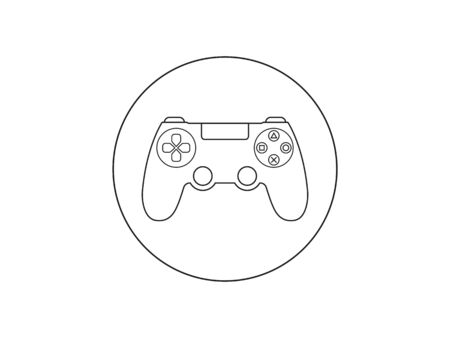 Controller, joystick icon Vector illustration flat