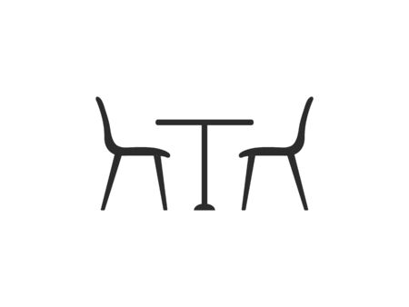 Chair, furniture icon. Vector illustration flat design Vectores