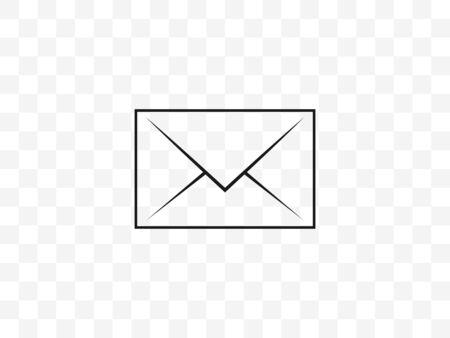 Communication, envelope, message icon. Vector illustration, flat design.