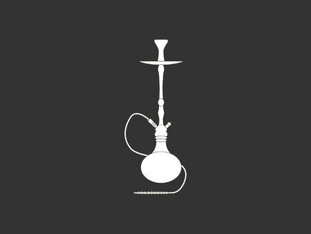Hookah, smoking, tobacco icon. Vector illustration, flat design. Stock Illustratie
