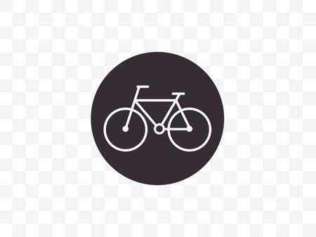 Vector illustration, flat design. Bicycle bike icon Фото со стока - 151052537
