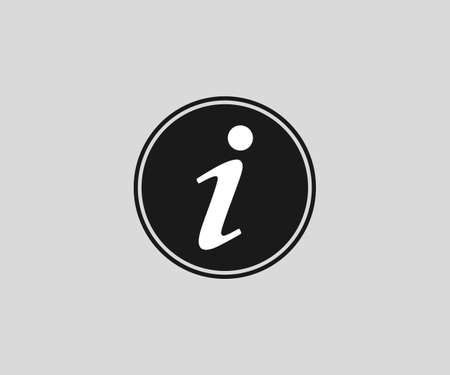 Information, info icon, vector