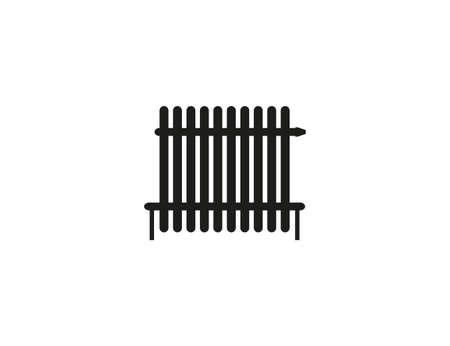 Radiator, heater icon vector flat