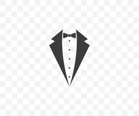 Bow tie, dress code Vector illustration