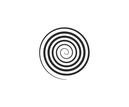 Circle, helix, scroll, spiral icon. Vector illustration. 向量圖像