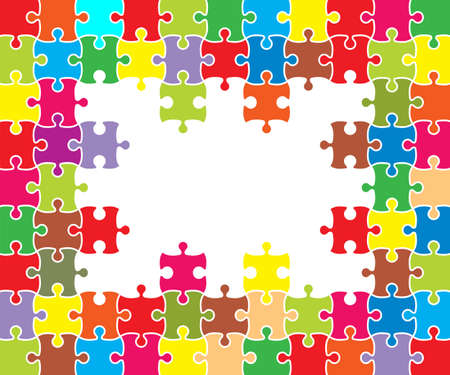 Colorful background puzzle, jigsaw puzzle