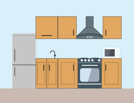 Cook, food kitchen icon flat design