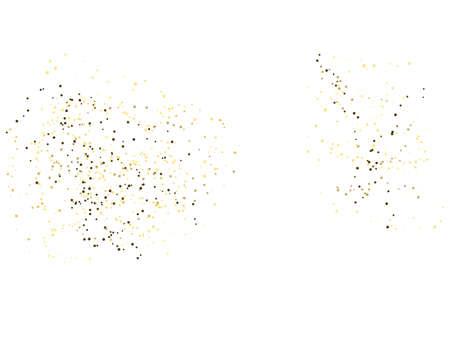 Vector illustration. Vector gold glitter background Иллюстрация