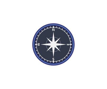 Vector illustration. Compass navigation icon Ilustração