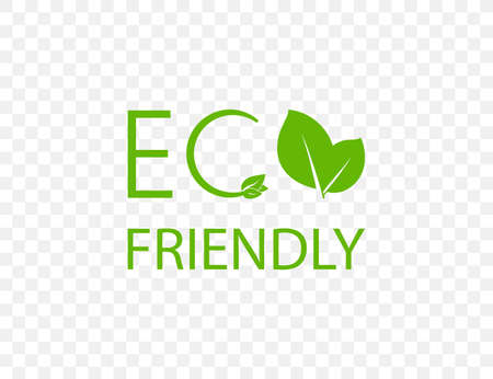 Eco icon. Eco friendly sign. Vector illustration. 向量圖像