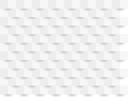 Abstract white geometric background 3d