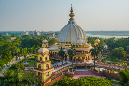 Mayapur Samadhi Mandir. India Editorial