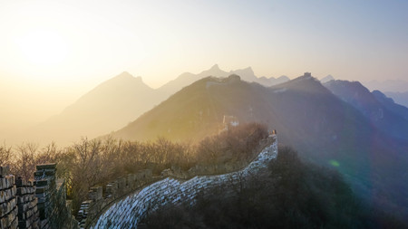 The Great Wall of China Imagens
