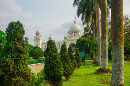 Beautiful Victoria Memorial. Kolkata, India