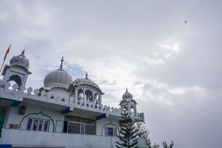 Gurudwara Temple in Gangtok in Sikkim, India