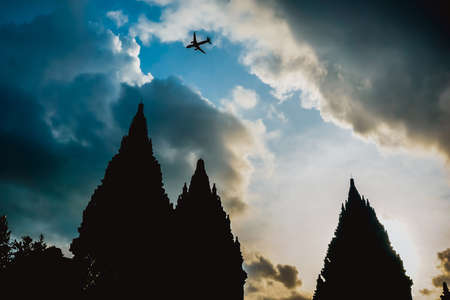 Prambanan - a huge complex of Hindu temples in Indonesia