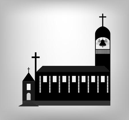 ローマ カトリック教会の塔の鐘。図