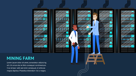 Mining Farm Rack Diagnostic and Synchronization Process. Mainframe Database Support and Repair. Admininstrator Teamwork Monitoring. Blockchain Cryptocurrency Digital Virtual Money.