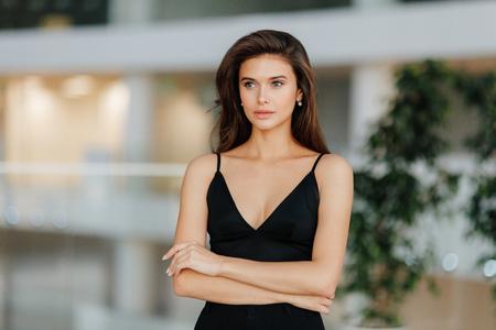 portrait femme d'affaires Banque d'images