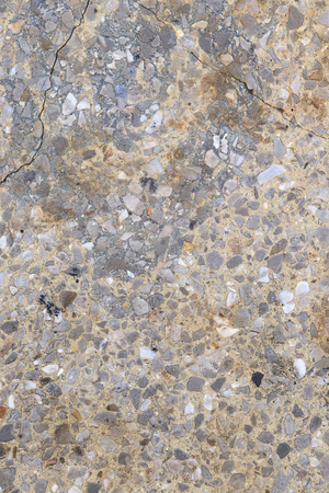Abstract texture of an old multicolored cement wall for interior design. Copy space to add text. Loft style