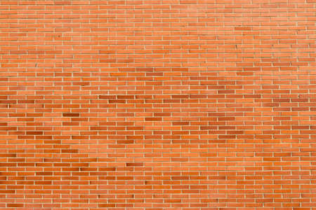 Brick wall, texture of red stone blocks background