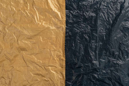 Plastic Bag Texture. Abstract Background. Copy Space
