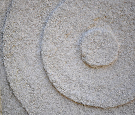 deatil: Close up of Sandstone Wall, Abstract Background