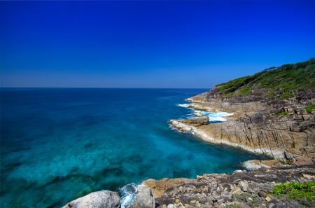 View Point of Tachai island in Phang-Nha, Thailand