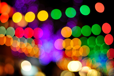 Bokeh of light  Abstract background  Stock Photo