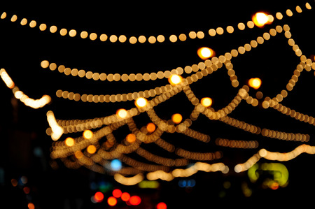 Bokeh of light  Abstract background   Blurred Photo  photo