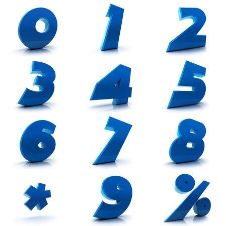2 0: Numbers set