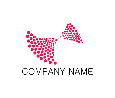 catchy: Tech startup company logo Illustration