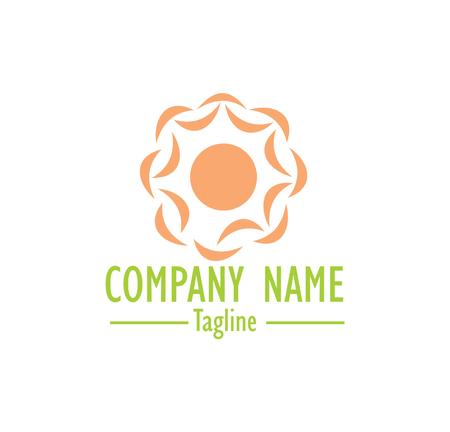 catchy: Solar food ecology logo