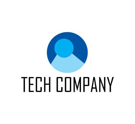 catchy: Tech computer store company logo