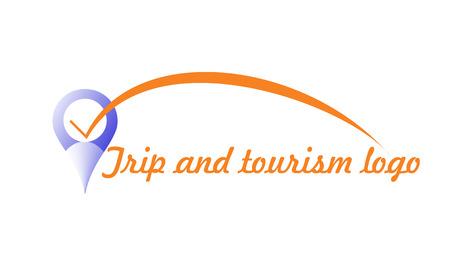 logotipo turismo: Logo de viaje y el turismo