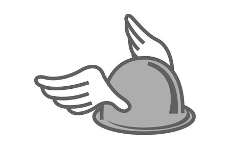 Hermes winged helmet