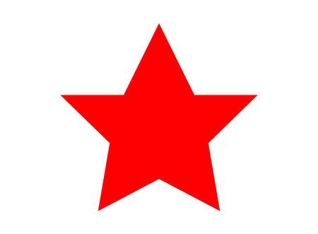 red star symbol 向量圖像