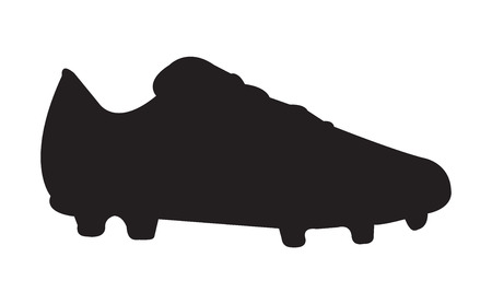 Soccer shoe silhouette