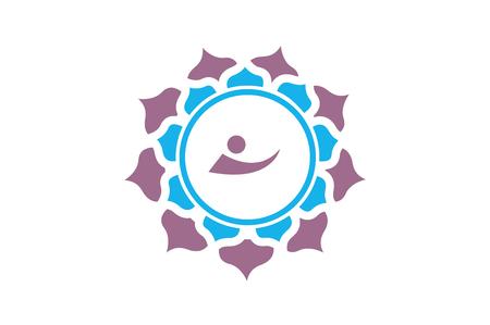 Simple mandala symbol