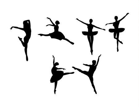 Ballet dance poses Çizim