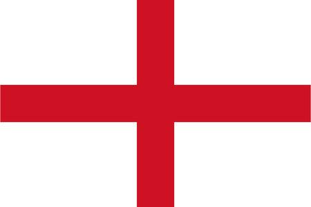 The flag of England Reklamní fotografie