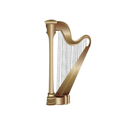 harp icon on white