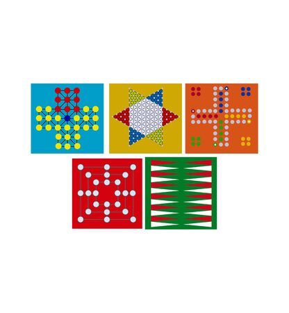 game boards on white Vectores